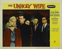 Unholy Wife, The - 11 x 14 Movie Poster - Style G