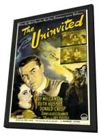The Uninvited - 27 x 40 Movie Poster - Style A - in Deluxe Wood Frame
