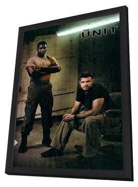 The Unit - 11 x 17 TV Poster - Style A - in Deluxe Wood Frame