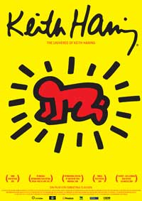 The Universe of Keith Haring - 11 x 17 Movie Poster - German Style A