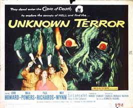 Unknown Terror, The - 22 x 28 Movie Poster - Half Sheet Style A