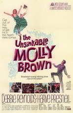The Unsinkable Molly Brown - 11 x 17 Movie Poster - Style A