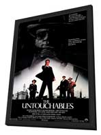 The Untouchables - 11 x 17 Movie Poster - Style A - in Deluxe Wood Frame