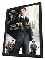 The Untouchables - 11 x 17 Movie Poster - Style D - in Deluxe Wood Frame