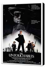 The Untouchables - 27 x 40 Movie Poster - Style A - Museum Wrapped Canvas