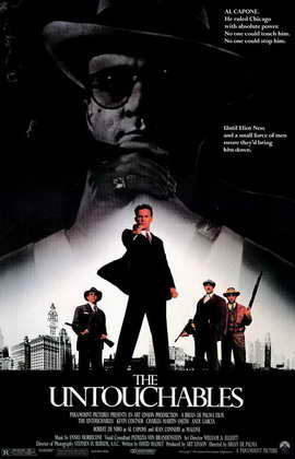 The Untouchables - 11 x 17 Movie Poster - Style A