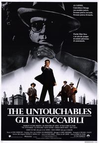 The Untouchables - 11 x 17 Movie Poster - Italian Style A