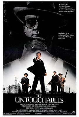 The Untouchables - 27 x 40 Movie Poster - Style A