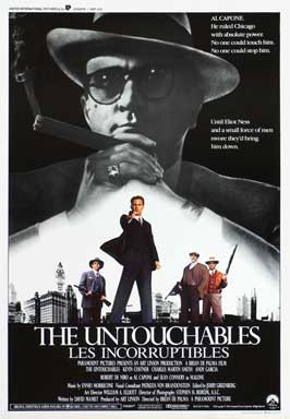 The Untouchables - 27 x 40 Movie Poster - Belgian Style A