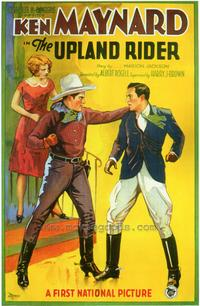 The Upland Rider - 27 x 40 Movie Poster - Style A