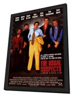 The Usual Suspects - 11 x 17 Movie Poster - Style A - in Deluxe Wood Frame