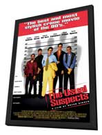 The Usual Suspects - 27 x 40 Movie Poster - Style B - in Deluxe Wood Frame
