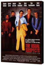 The Usual Suspects - 11 x 17 Movie Poster - Style A - Museum Wrapped Canvas