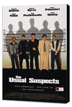 The Usual Suspects - 11 x 17 Movie Poster - Style D - Museum Wrapped Canvas