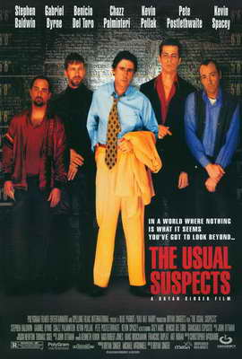 The Usual Suspects - 27 x 40 Movie Poster - Style A