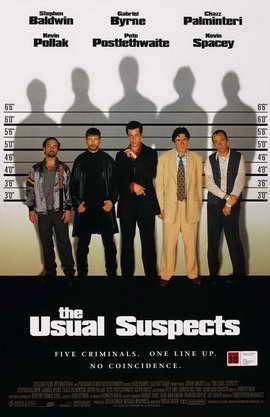 The Usual Suspects - 11 x 17 Movie Poster - Style D