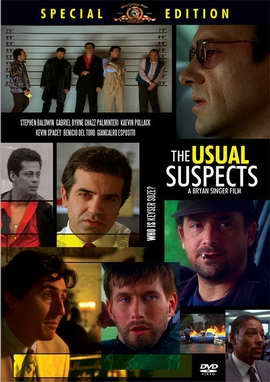 The Usual Suspects - 11 x 17 Movie Poster - Style H