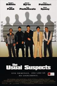 The Usual Suspects - 43 x 62 Movie Poster - Bus Shelter Style B