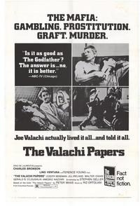 The Valachi Papers - 11 x 17 Movie Poster - Style B
