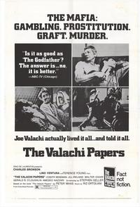 The Valachi Papers - 27 x 40 Movie Poster - Style B