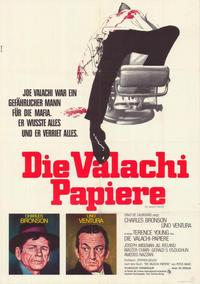 The Valachi Papers - 11 x 17 Movie Poster - German Style A