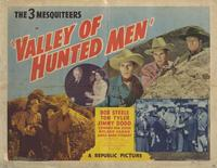 The Valley of Hunted Men - 11 x 14 Movie Poster - Style A