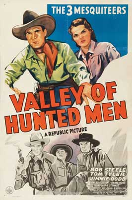 The Valley of Hunted Men - 11 x 17 Movie Poster - Style A