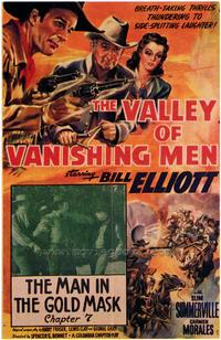 The Valley of the Vanishing Men - 27 x 40 Movie Poster - Style A