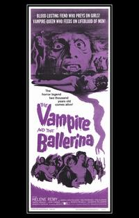 Vampire and the Ballerina - 11 x 17 Movie Poster - Style B
