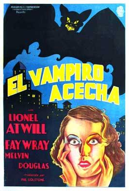 The Vampire Bat - 11 x 17 Movie Poster - Spanish Style A