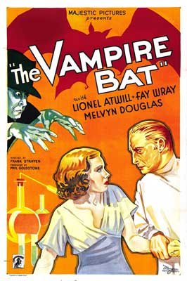 The Vampire Bat - 27 x 40 Movie Poster - Style A
