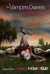 The Vampire Diaries (TV) - 11 x 17 TV Poster - Style A