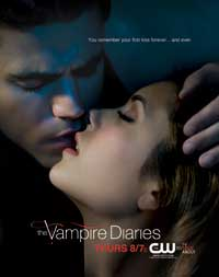 The Vampire Diaries (TV) - 11 x 17 TV Poster - Style D