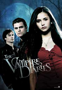 The Vampire Diaries (TV) - 11 x 17 TV Poster - Style F