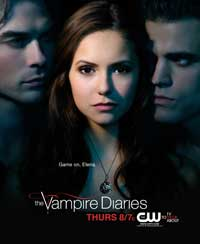 The Vampire Diaries (TV) - 27 x 40 Movie Poster - Style AF