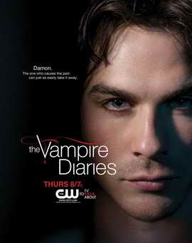 The Vampire Diaries (TV) - 11 x 17 TV Poster - Style H