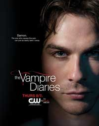 The Vampire Diaries (TV) - 27 x 40 TV Poster - Style F