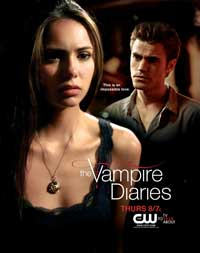 The Vampire Diaries (TV) - 43 x 62 TV Poster - Style D