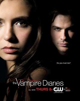 The Vampire Diaries (TV) - 11 x 17 TV Poster - Style J