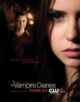 The Vampire Diaries (TV) - 11 x 17 TV Poster - Style K