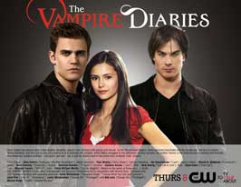 The Vampire Diaries (TV) - 11 x 14 TV Poster - Style A