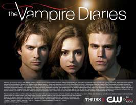 The Vampire Diaries (TV) - 11 x 14 TV Poster - Style B