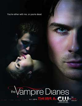 The Vampire Diaries (TV) - 27 x 40 TV Poster - Style J