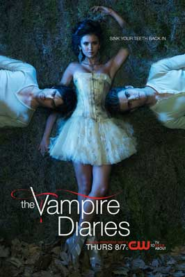 The Vampire Diaries (TV) - 11 x 17 TV Poster - Style Q