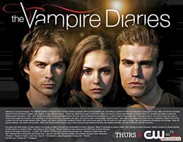 The Vampire Diaries (TV) - 11 x 14 TV Poster - Style D