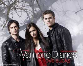 The Vampire Diaries (TV) - 11 x 14 TV Poster - Style C