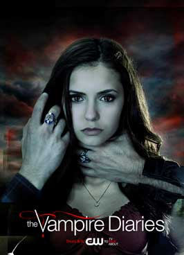 The Vampire Diaries (TV) - 27 x 40 TV Poster - Style M