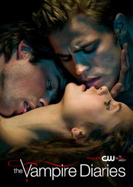 The Vampire Diaries (TV) - 11 x 17 TV Poster - Style S