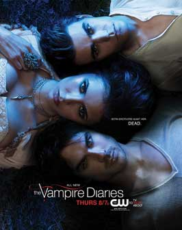 The Vampire Diaries (TV) - 27 x 40 TV Poster - Style O
