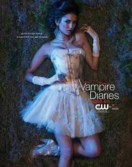 The Vampire Diaries (TV) - 11 x 17 TV Poster - Style X